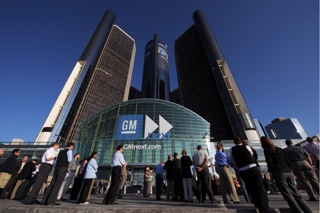 Gm Announces Big Profits First Time Detroit 39 S Been In The