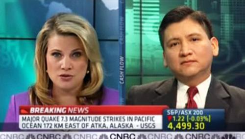 Edgar Perez at CNBC