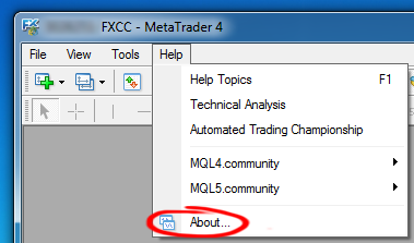 How to downgrade Metatrader 4 build 418 to previous version