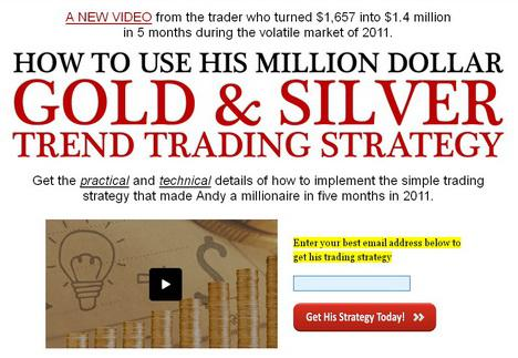 Gold Silver Trend Trading Stratey