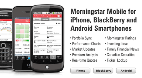 Morningstar Mobile Phone Application