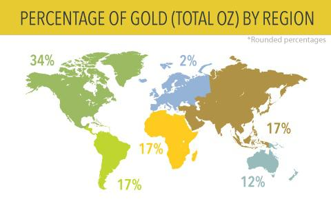 Gold Mines In World Map.2012 Global Gold Mines And Deposits Ranking Seeking Alpha