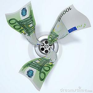 Euro-Dollar Down Drain