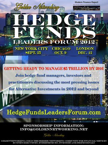 Hedge Funds Leaders Forum 2012