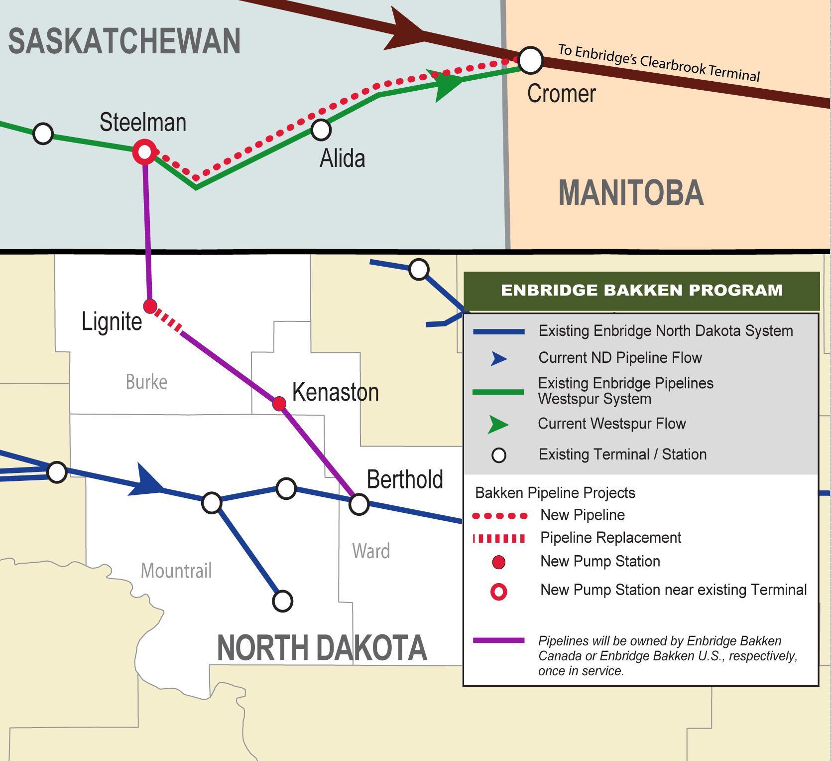 Investment Potential In Bakken Pipeline Takeaway