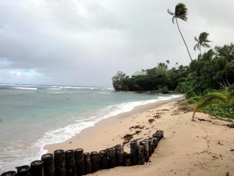 Deserted Fijian Beach