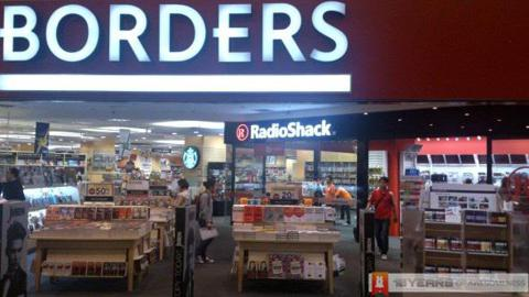 Borders The Gardens Mall 11