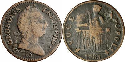 1783 Confederation Coin