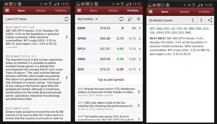 best stock portfolio app 2013