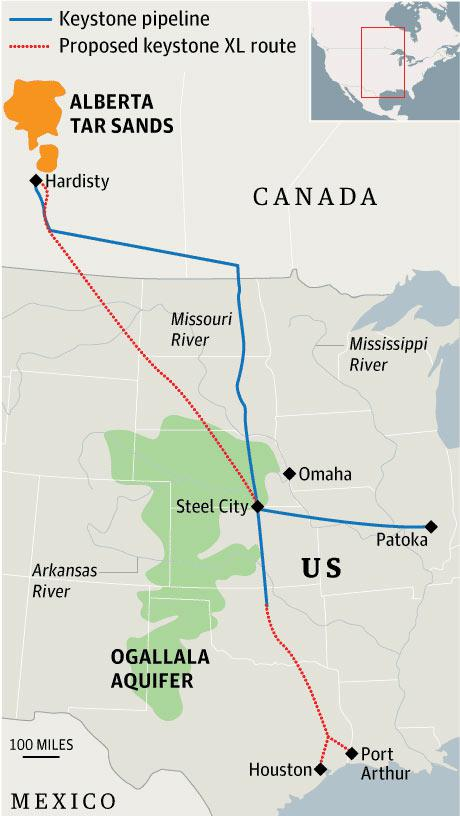 If The Keystone Xl Is Rejected Canadian National Railway Will