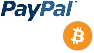 PayPal and Bitcoin logo