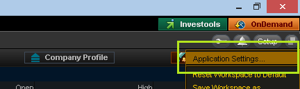 Setting Up Bollinger Band Alerts In Thinkorswim - The Grid