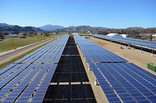 Fort Hunter Liggett CA solar project