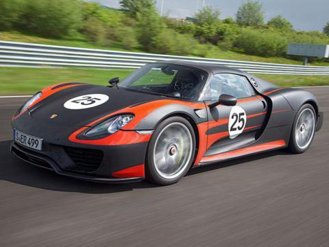 The Super-Hybrid: Porsche