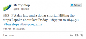 3 15 2014 tweet 300x137 S&P 500: Perfect storm on the upside, with MTS calling the algo plays
