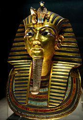 Gold mask of Tutankhamun, Wikipedia.org