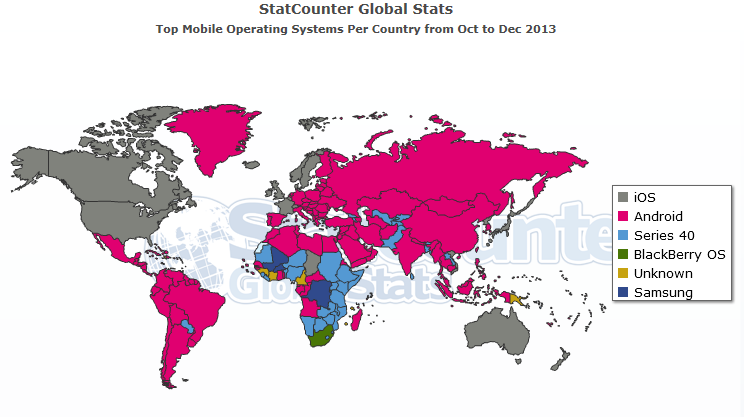Nokia can put microsoft on the mobile map microsoft corporation map as expected but holding on to parts of africa where the main issue for users is price and blackberry bbry os continues to be preferred in south gumiabroncs Gallery