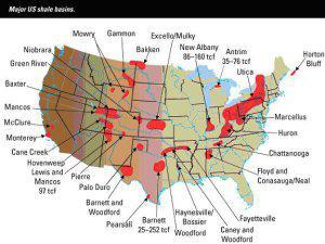 US Shale Deposits Petro Lucre