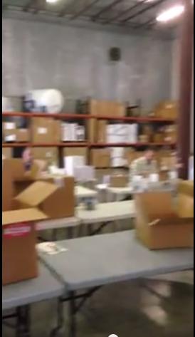 Screen Shot of SPLI Warehouse