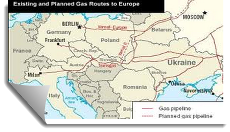 Russia Natural Gas Pipelines