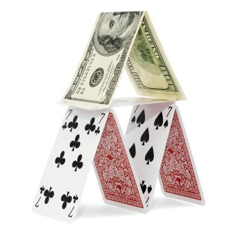 House of cards and money