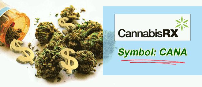 is cannabis rx inc otcbb cana really poised to service the