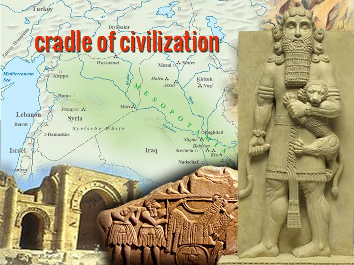 cradle of civilization world history
