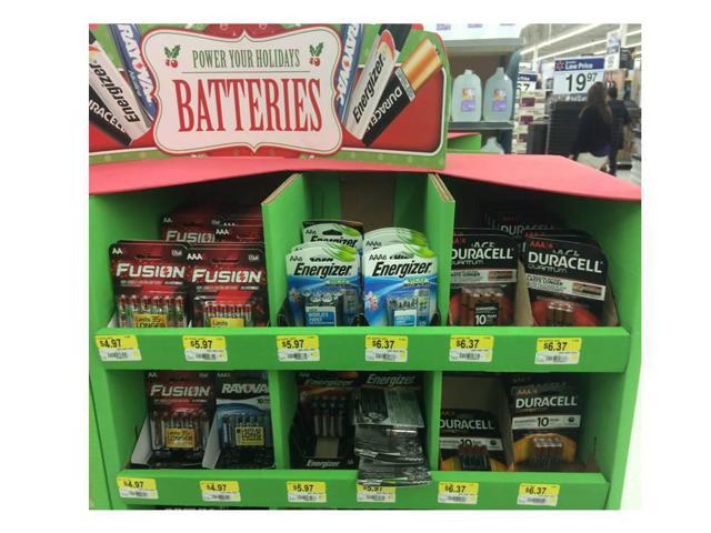 Premium Battery Facings at Walmart