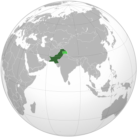 Pakistan is strategically located