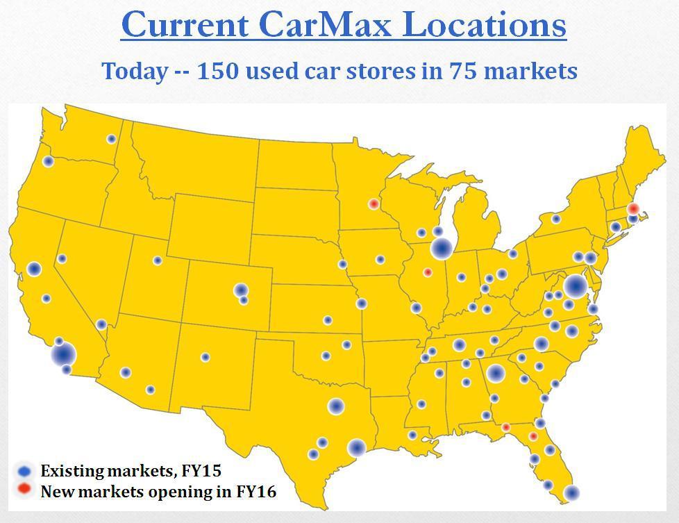 Carmax Recent Pullback Provides Investors With 15