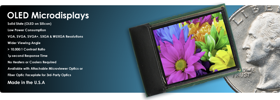 eMagin's OLED Microdisplays: The High-End Standard Making