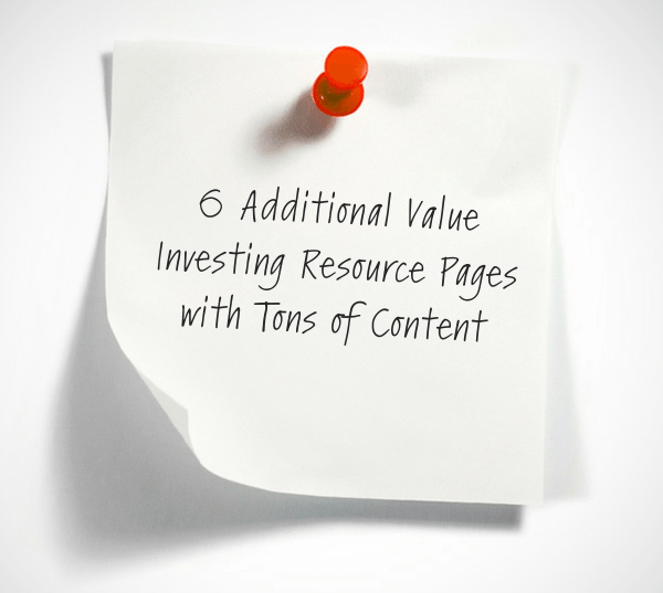 60 Best Value Investing Resources You'd Be Crazy To Miss