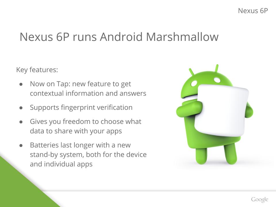 It's Qualcomm Snapdragon Inside The Google Nexus 6P - QUALCOMM