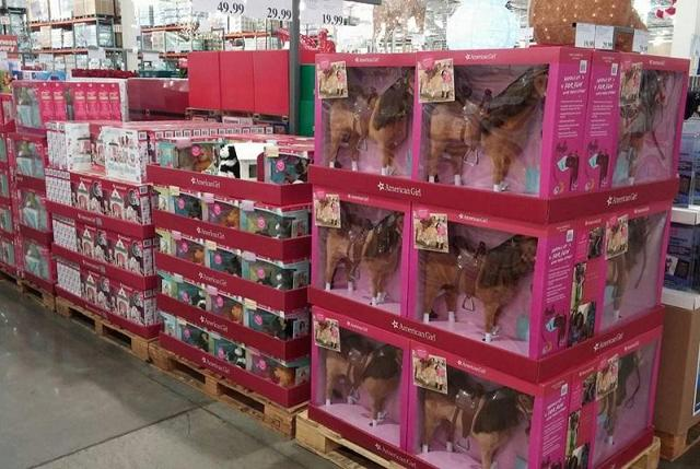 American Girl items at Costco
