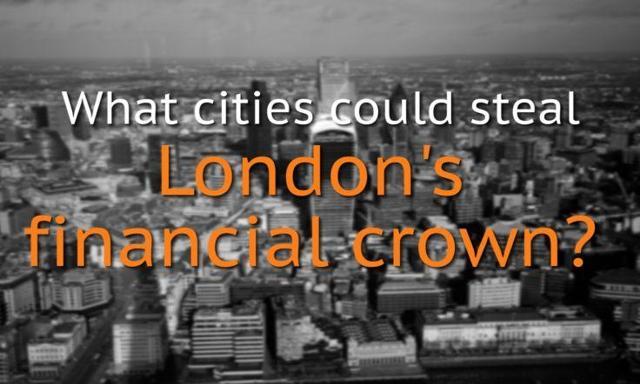 Replacing London as Financial Hub