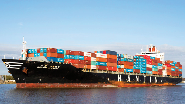 CAI International Hanjin Bankruptcy Hit