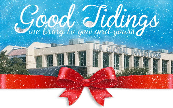 Good Tidings we bring to you and yours