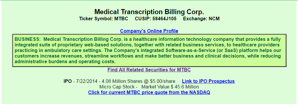 Medical Transcription Billing A View From The Perspective Of A