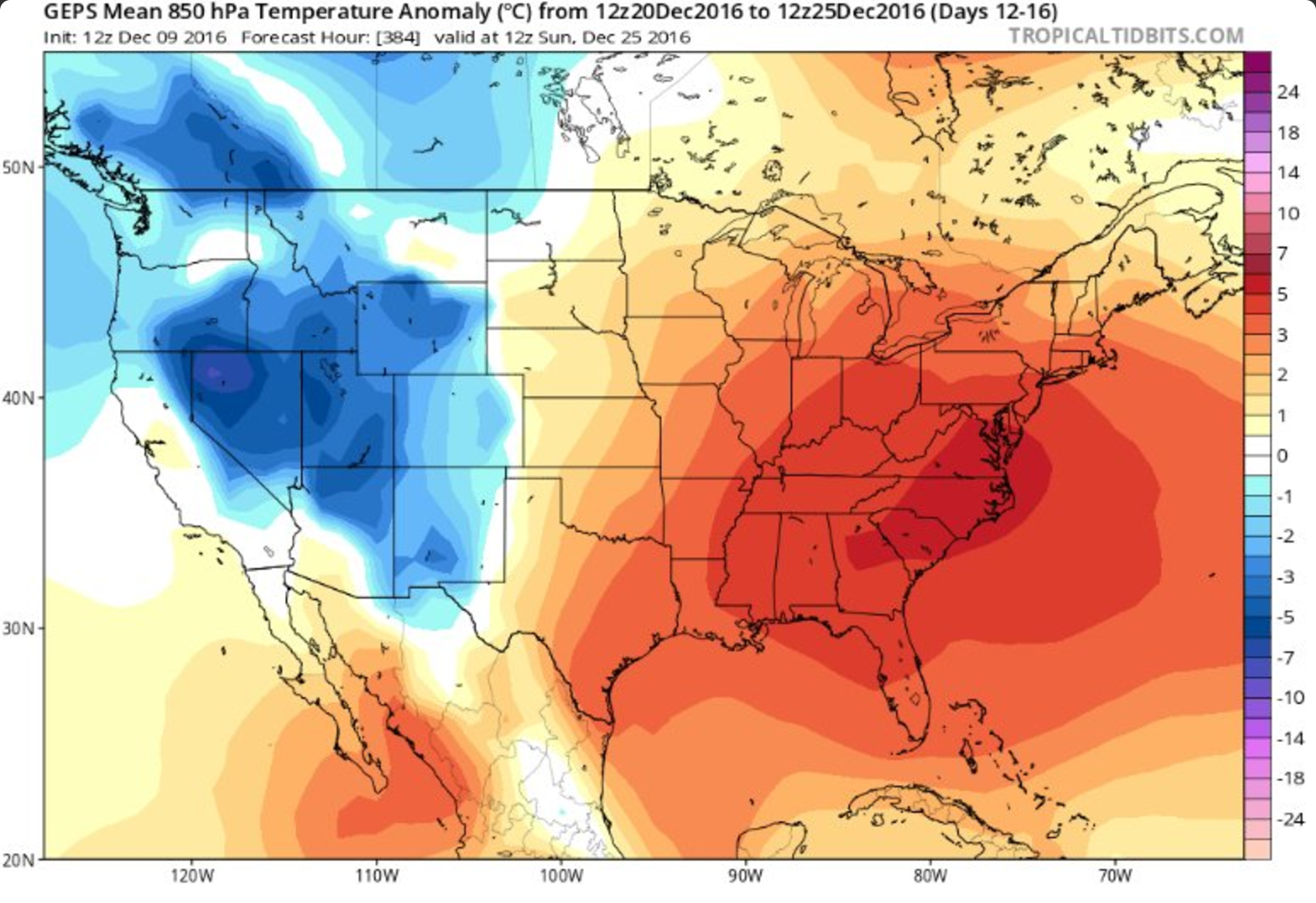 Overnight Bearish Model Runs Push Prices Down Natural Gas Daily - Us weather map past week