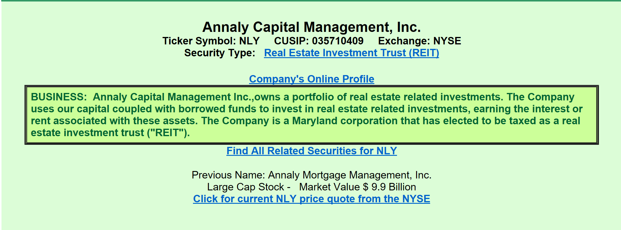 Annaly capital management a view from the perspective of a to accomplish this lets visit my favorite preferred search site quantum online which i set to open to annaly below is a snapshot of a slice of that buycottarizona Image collections