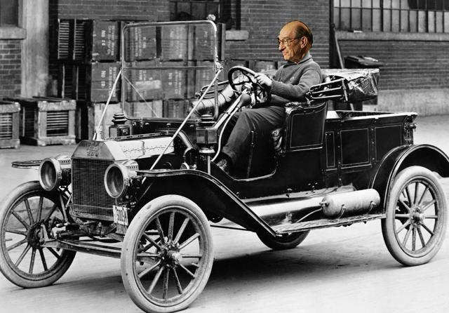 Greenspan driving