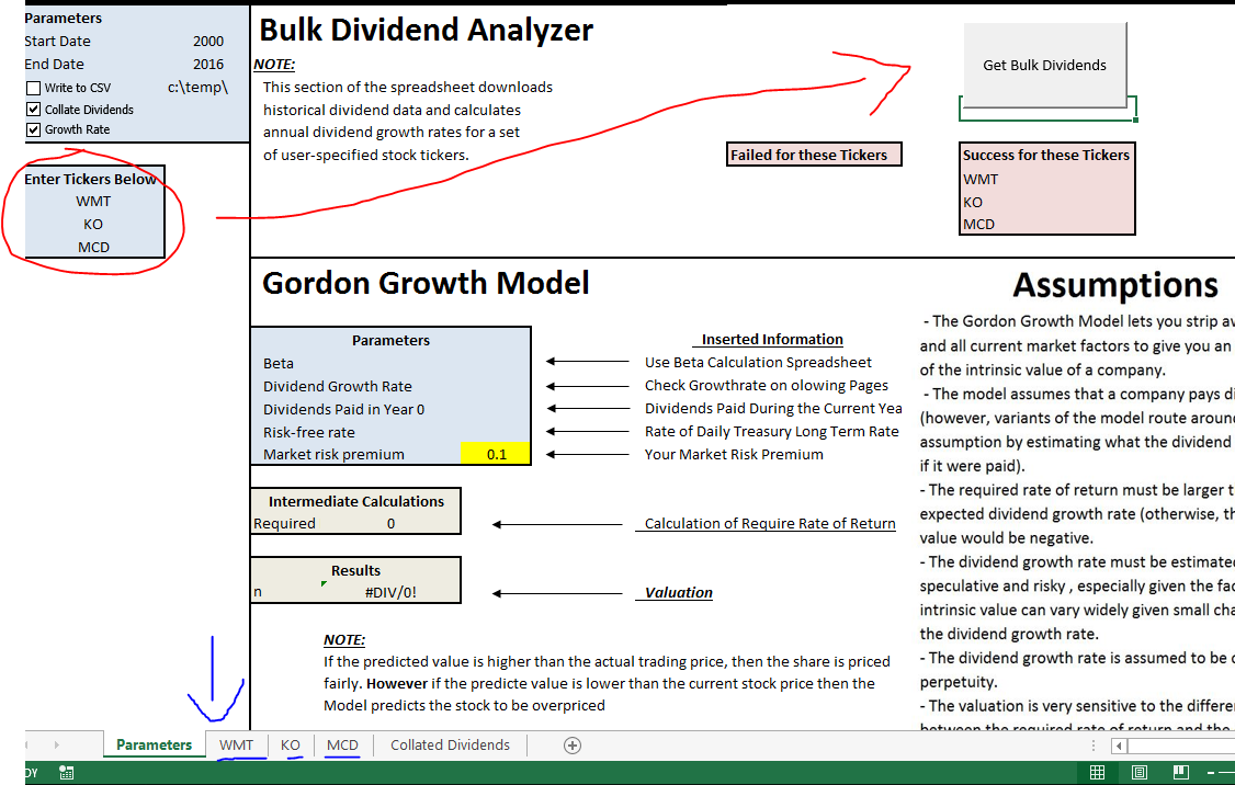 Stock valuation and the gordon growth model seeking alpha once the user obtains their required dividend growth rate they can now input the given result into the gordon growth model parameters alramifo Image collections