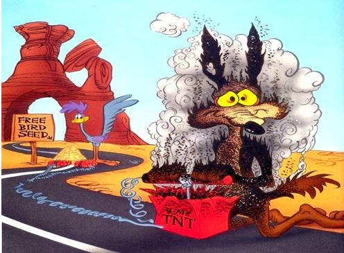 Wile E. Coyote - TNT