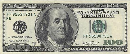 Old $100 Bill