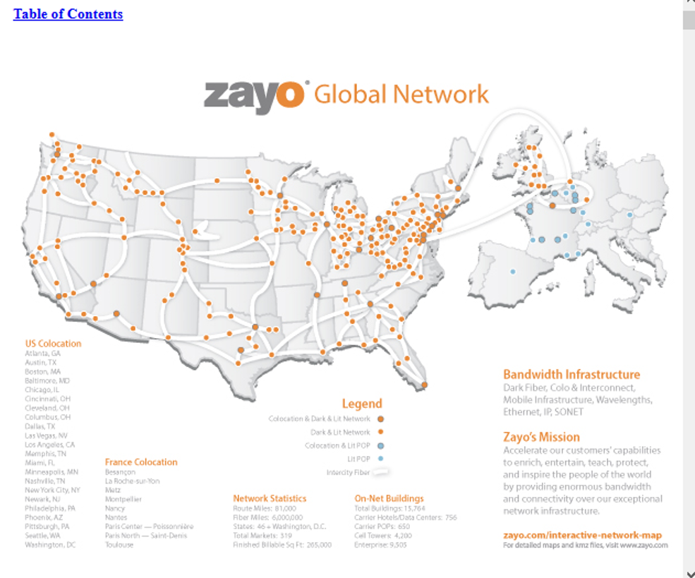 Benefit From The Increasing Bandwidth Demand By Owning Zayo Group