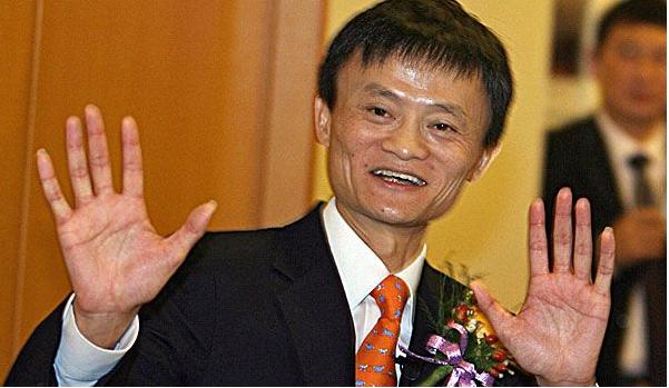 Photo of Alibaba founder Jack Ma; image via Bing.