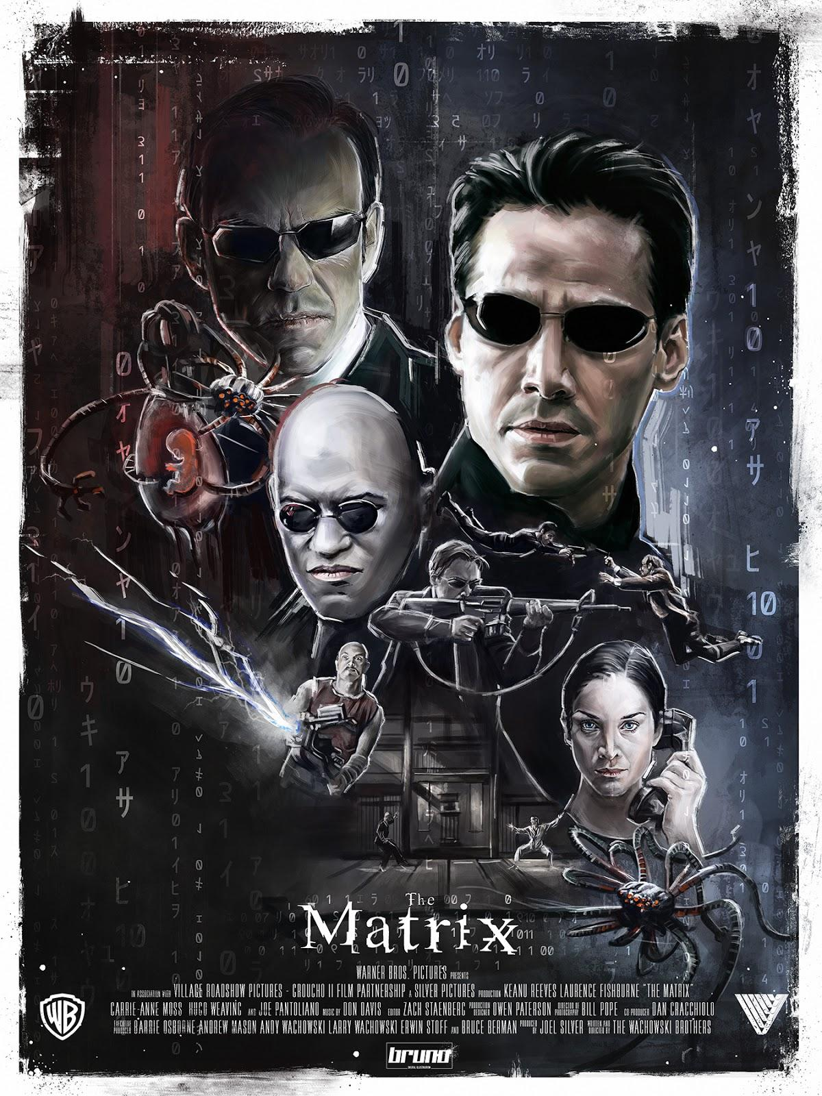 an analysis of the matrix by wachowski brothers After the matrix came out, few thought that the wachowski brothers would  this  theme is continued in the second movie as the oracle talks.