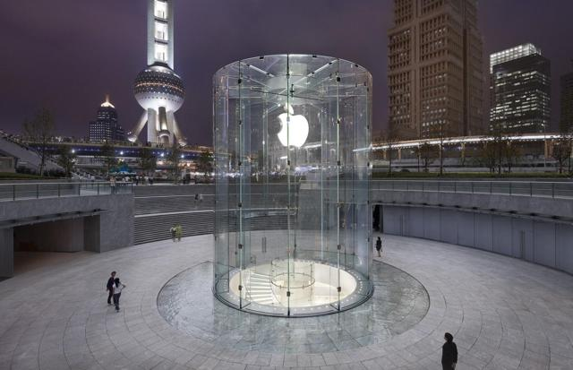 Apple can no longer rely on iPhone sales in Chinese tier-one city markets like Shanghai. It has to open shops in smaller cities in central and western China.