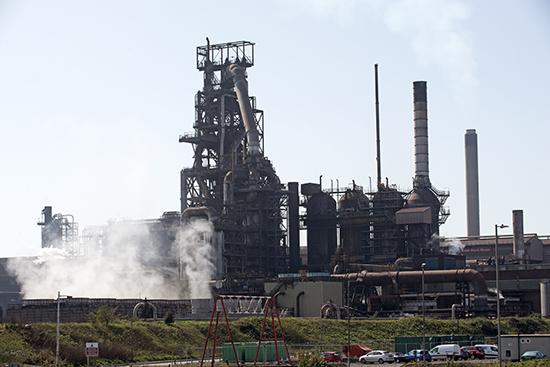 This steel plant at Port Talbot in South Wales, U.K., could close if Tata Steel can