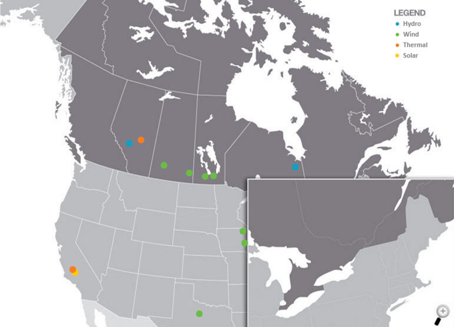 algonquin power asset map